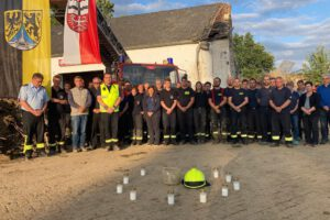 Spende an die Feuerwehr Ahrweiler –                               Ermöglicht durch Willi und Rolf